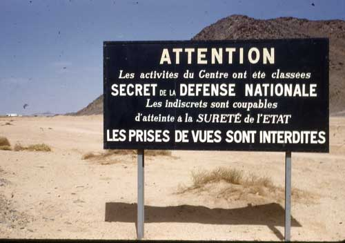 Prises de vue s interdites - Secret défense