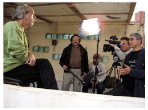 """tournage de """"l'Algérie, son cinéma et moi"""