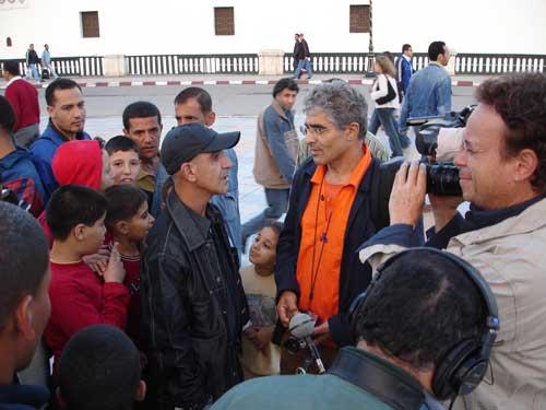 """Bab-El-Oued : tournage de """"L'Algérie, son cinéma et moi"""""""